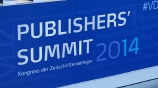 VDZ Publishers Summit Berlin 2014